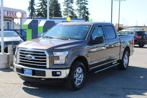 2016 Ford F-150 for sale at BAYSIDE AUTO SALES in Everett WA