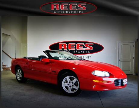 1998 Chevrolet Camaro for sale at REES AUTO BROKERS in Washington UT