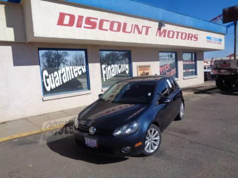 2013 Volkswagen Golf for sale at Discount Motors in Pueblo CO
