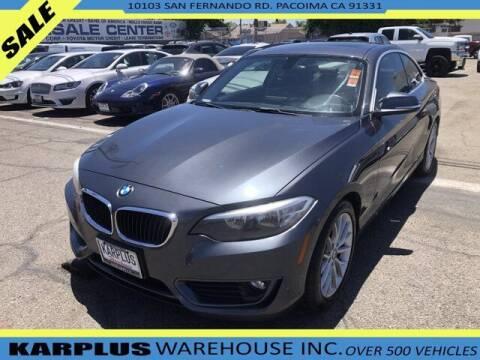 2014 BMW 2 Series for sale at Karplus Warehouse in Pacoima CA
