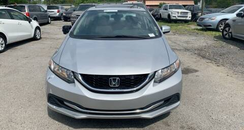 2014 Honda Civic for sale at Auto Mart in North Charleston SC
