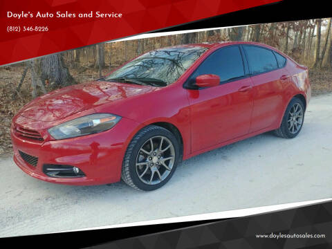 2013 Dodge Dart for sale at Doyle's Auto Sales and Service in North Vernon IN