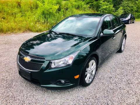 2014 Chevrolet Cruze for sale at R.A. Auto Sales in East Liverpool OH