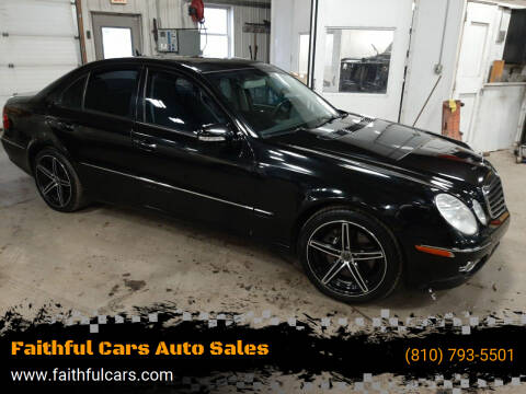 2008 Mercedes-Benz E-Class for sale at Faithful Cars Auto Sales in North Branch MI