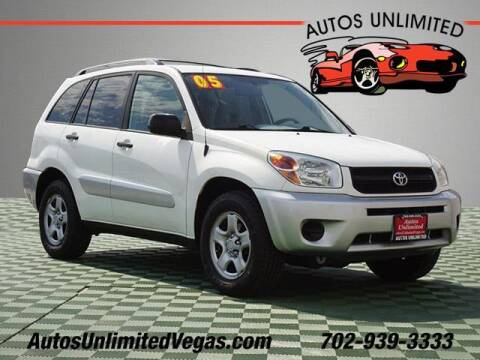 2005 Toyota RAV4 for sale at Autos Unlimited in Las Vegas NV