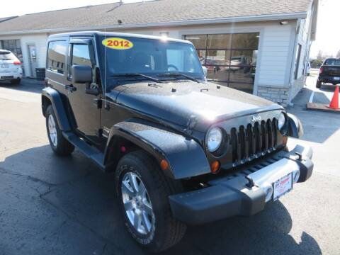 2012 Jeep Wrangler for sale at Tri-County Pre-Owned Superstore in Reynoldsburg OH