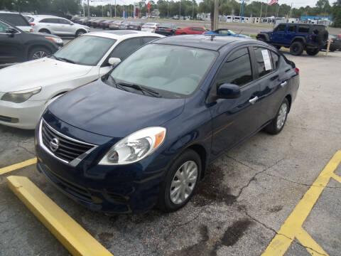 2012 Nissan Versa for sale at ORANGE PARK AUTO in Jacksonville FL