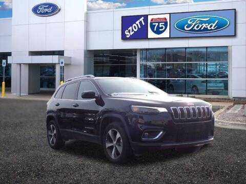 2020 Jeep Cherokee for sale at Szott Ford in Holly MI