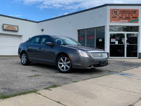 2010 Mercury Milan for sale at HIGHLINE AUTO LLC in Kenosha WI