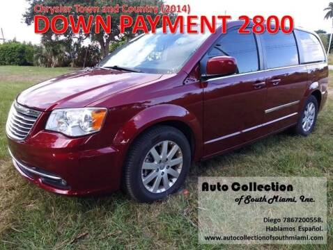 2014 Chrysler Town and Country for sale at AUTO COLLECTION OF SOUTH MIAMI in Miami FL