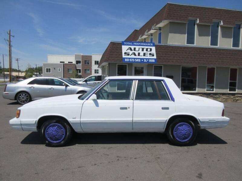 1988 Plymouth Reliant K America for sale in Ogden, UT