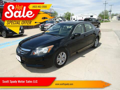 2012 Honda Accord for sale at Scott Spady Motor Sales LLC in Hastings NE