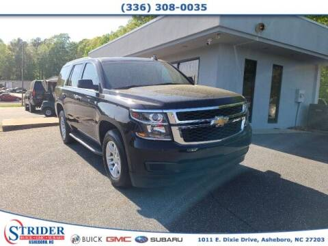 2016 Chevrolet Tahoe for sale at STRIDER BUICK GMC SUBARU in Asheboro NC