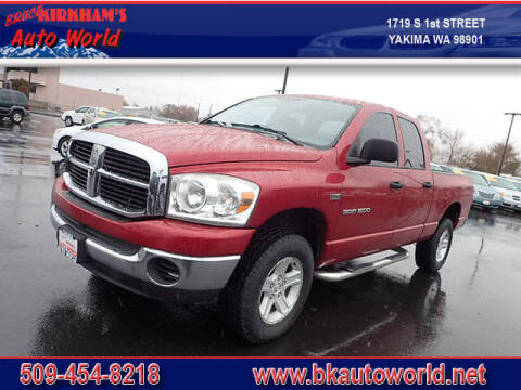 2007 Dodge Ram Pickup 1500 for sale at Bruce Kirkham Auto World in Yakima WA