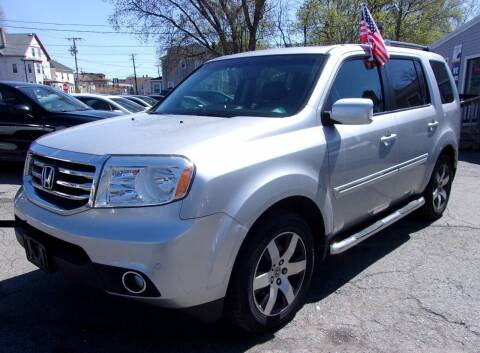 2012 Honda Pilot for sale at Top Line Import of Methuen in Methuen MA