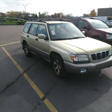 2002 Subaru Forester for sale at WB Auto Sales LLC in Barnum MN