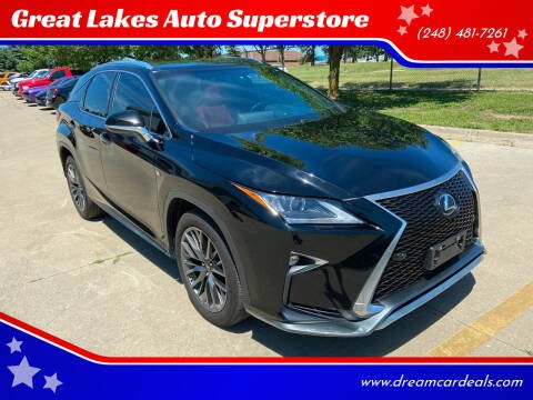 2016 Lexus RX 350 for sale at Great Lakes Auto Superstore in Pontiac MI