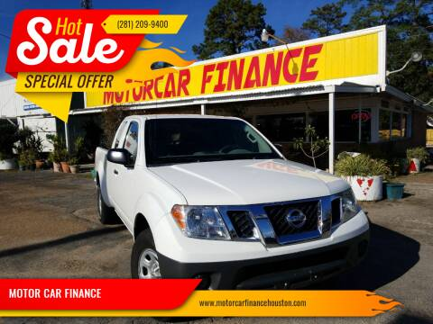 2016 Nissan Frontier for sale at MOTOR CAR FINANCE in Houston TX