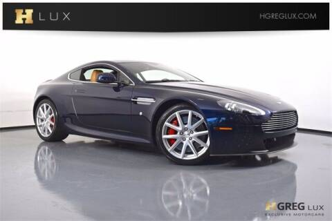 2014 Aston Martin V8 Vantage for sale at HGREG LUX EXCLUSIVE MOTORCARS in Pompano Beach FL