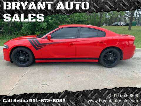 2017 Dodge Charger for sale at BRYANT AUTO SALES in Bryant AR