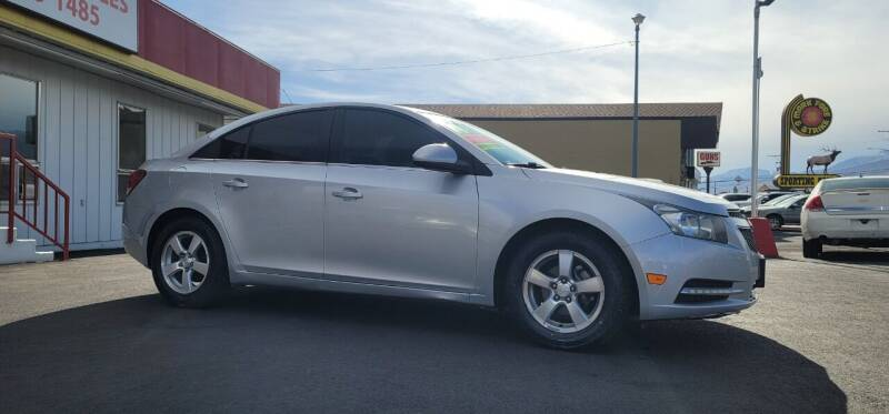 2014 Chevrolet Cruze for sale at Henry's Autosales, LLC in Reno NV