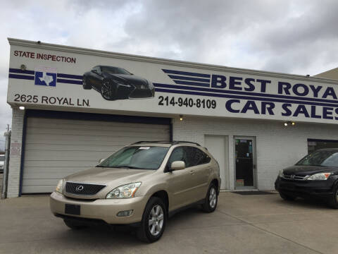 2005 Lexus RX 330 for sale at Best Royal Car Sales in Dallas TX