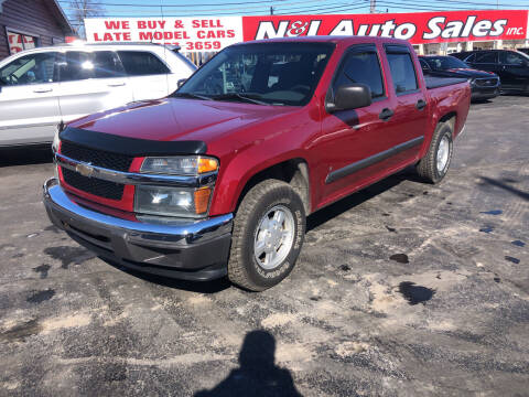2006 Chevrolet Colorado for sale at N & J Auto Sales in Warsaw IN