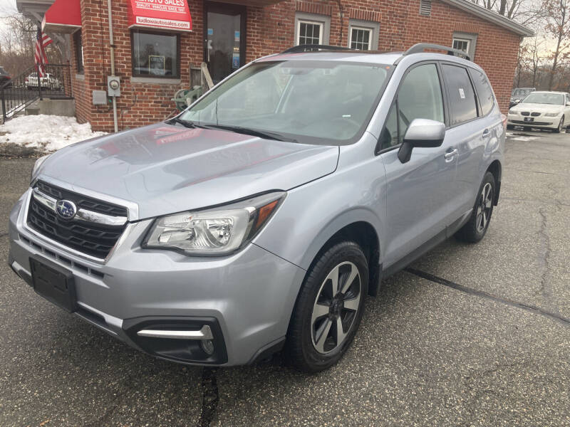2018 Subaru Forester for sale at Ludlow Auto Sales in Ludlow MA