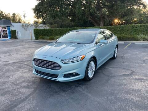 2013 Ford Fusion Hybrid for sale at Royal Auto Mart in Tampa FL