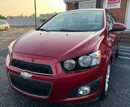 2012 Chevrolet Sonic for sale at Carland Auto Sales INC. in Portsmouth VA