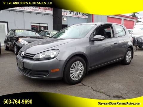 2011 Volkswagen Golf for sale at Steve & Sons Auto Sales in Happy Valley OR