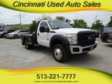 2015 Ford F-550 Super Duty for sale at Cincinnati Used Auto Sales in Cincinnati OH