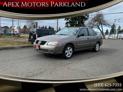 2005 Nissan Sentra for sale at Apex Motors Parkland in Tacoma WA