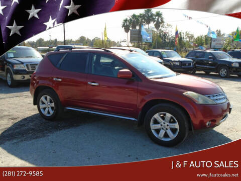 2007 Nissan Murano for sale at J & F AUTO SALES in Houston TX