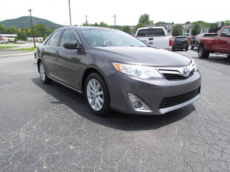 2013 Toyota Camry for sale at Hibriten Auto Mart in Lenoir NC