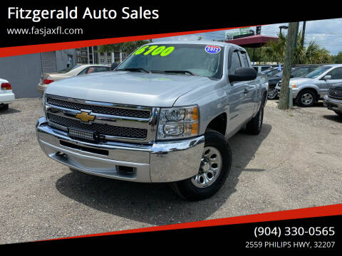2012 Chevrolet Silverado 1500 for sale at Fitzgerald Auto Sales in Jacksonville FL