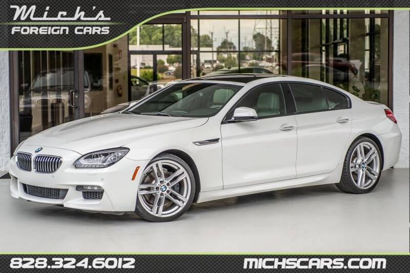 2014 BMW 6 Series for sale at Mich's Foreign Cars in Hickory NC