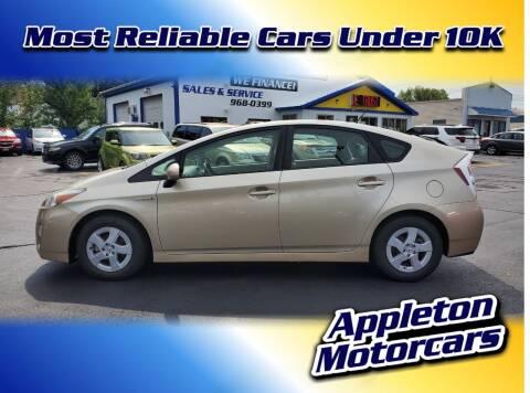 2010 Toyota Prius for sale at Appleton Motorcars Sales & Service in Appleton WI