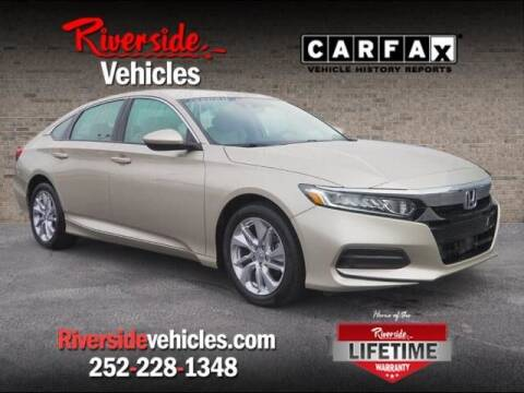 2019 Honda Accord for sale at Riverside Mitsubishi(New Bern Auto Mart) in New Bern NC