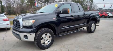 2007 Toyota Tundra for sale at DADA AUTO INC in Monroe NC