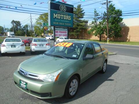 2008 Ford Focus for sale at Brookside Motors in Union NJ