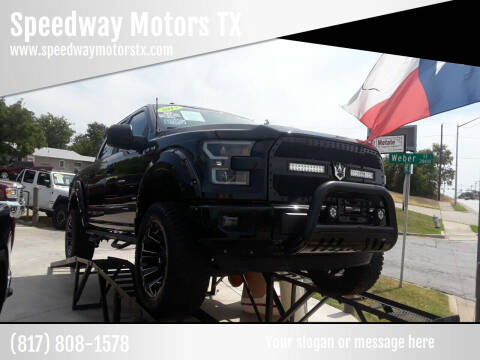 2017 Ford F-150 for sale at Speedway Motors TX in Fort Worth TX