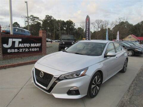 2019 Nissan Altima for sale at J T Auto Group in Sanford NC