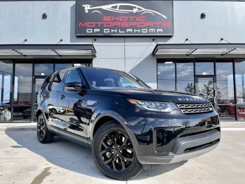 2019 Land Rover Discovery for sale at Exotic Motorsports of Oklahoma in Edmond OK