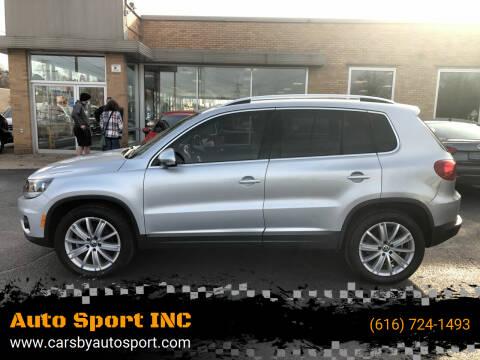 2014 Volkswagen Tiguan for sale at Auto Sport INC in Grand Rapids MI