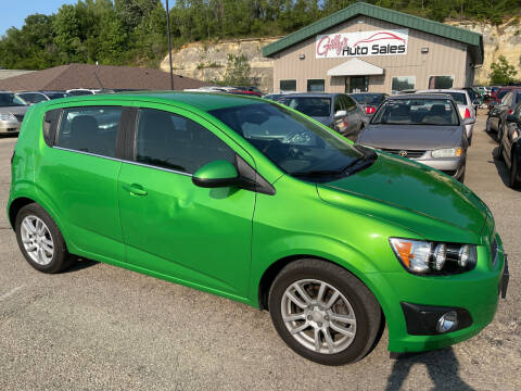2016 Chevrolet Sonic for sale at Gilly's Auto Sales in Rochester MN
