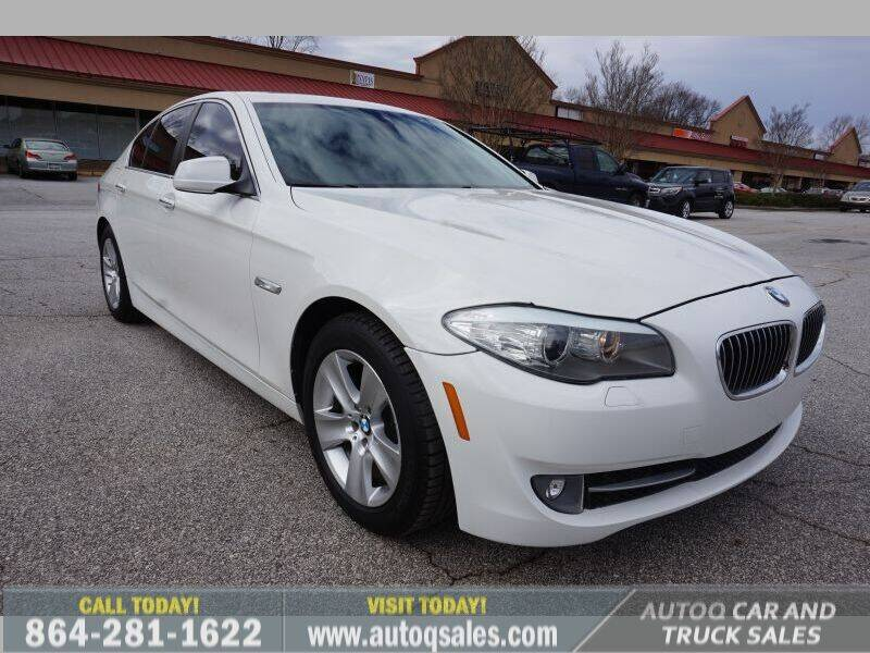 2011 BMW 5 Series for sale at Auto Q Car and Truck Sales in Mauldin SC