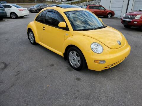 2000 Volkswagen New Beetle for sale at DISCOUNT AUTO SALES in Johnson City TN
