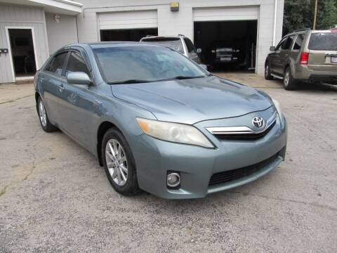 2011 Toyota Camry Hybrid for sale at St. Mary Auto Sales in Hilliard OH