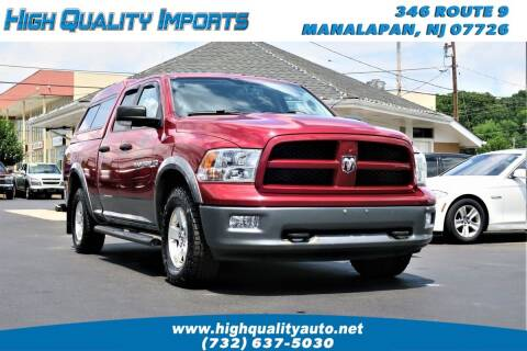 2012 RAM Ram Pickup 1500 for sale at High Quality Imports in Manalapan NJ